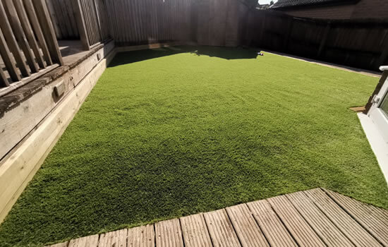 Artificial turf - Artificial lawn laid - Jackson Jargen Services