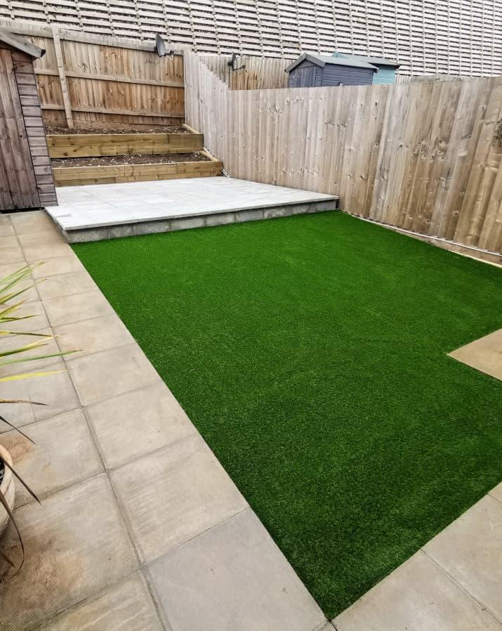 Artificial Grass - Artificial Grass Garden - Jackson Garden Services