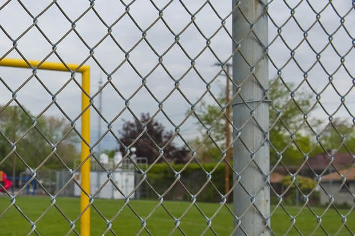 Commercial Fencing - Mesh Wire - Jackson Garden Services