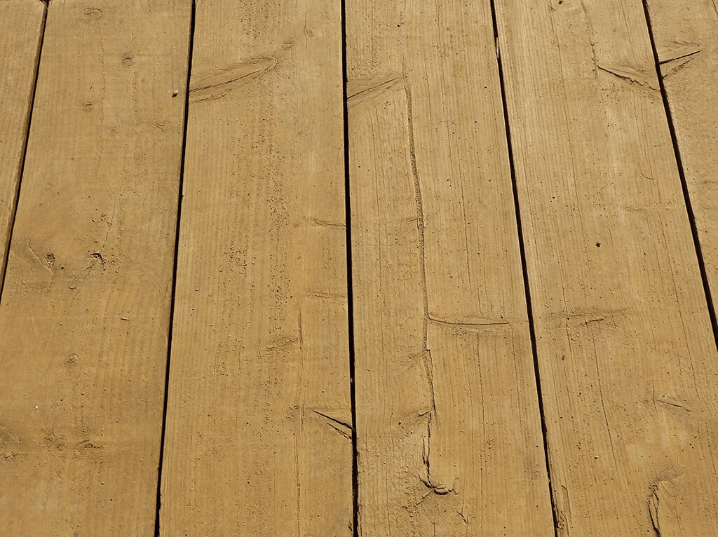 Landscaping Services: Close up image of decking boards.