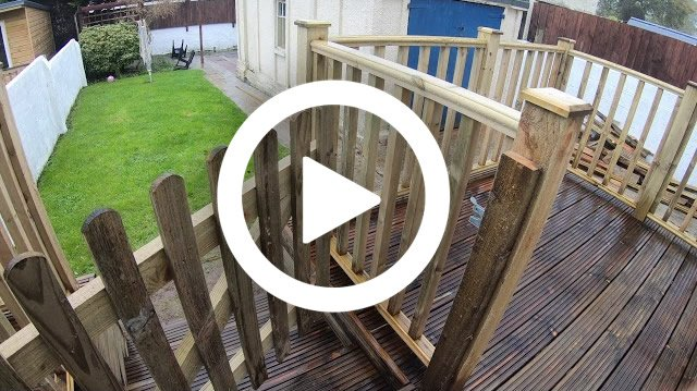 Youtube Video Thumbnail decking - Jackson Garden Services